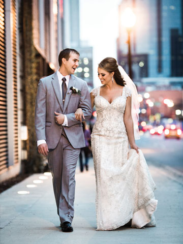 Sloan and Drew Wed in Downtown Nashville